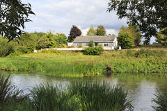 House on the banks of River Suir. Royalty Free Stock Photography