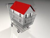 House on basket Royalty Free Stock Photos