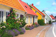 House in Bastad, Sweden Stock Photography