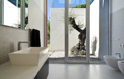 House, bathroom Stock Image