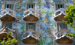 Gaudi House Stock Image