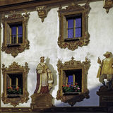 House in Bavaria Royalty Free Stock Photography