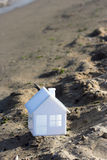 House on the beach Stock Photos
