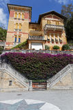 House on the beach of Levanto Royalty Free Stock Photos