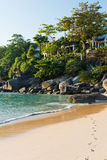 House on the beach. Of Thailand Stock Images