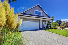 House with beautiful curb appeal. Washington real estate. Stock Image
