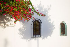 House. Beautiful Spanish house with white walls. Costa del Sol, Andalusia, Spain Stock Photography