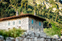 House in Berat city Royalty Free Stock Photography