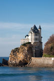 House in Biarritz. House in the village of Biarritz, France Royalty Free Stock Image