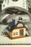 House on big dollar Stock Photo