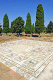 The House of the Birds, Roman city of Italica, Andalusia, Spain Royalty Free Stock Photography