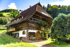 House in Black Forest royalty free stock images