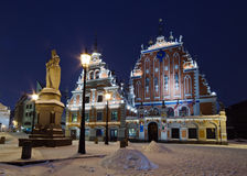House Black-headed, Riga. Royalty Free Stock Photos