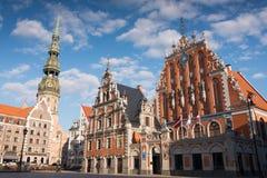 House of the Blackheads. At Riga Royalty Free Stock Photos