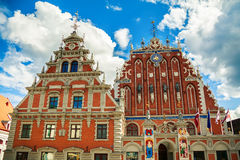 House of the Blackheads, Riga Stock Images