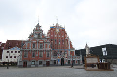 House of the Blackheads, Riga, Latvia Stock Photo