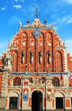 House of the Blackheads in Riga Stock Photography