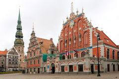 House of the Blackheads in Riga Royalty Free Stock Photos