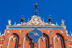 House of the Blackheads in Riga, Latvia Royalty Free Stock Photos