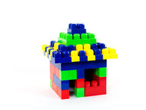 House Of Blocks Stock Image