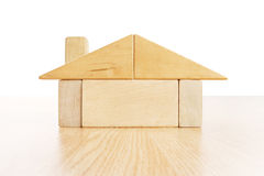 House of blocks Royalty Free Stock Photos