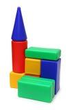 House of blocks - meccano toy Stock Photos