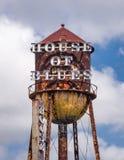 House of Blue 免版税图库摄影