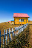 House on with blue sky Stock Photo