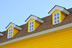 House and blue sky Stock Photography