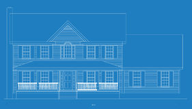 House blueprint Stock Image