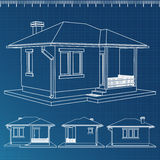 House Blueprint Royalty Free Stock Image