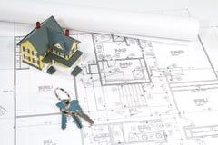 House Blueprints Stock Photography