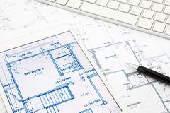 Floor Plan House Stock Photo Image Of Estate Blueprint