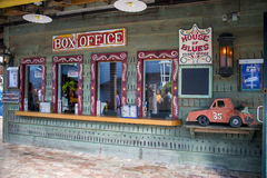 House of Blues Box Office. Ticket Box Office of the famous House of Blues at Orlando, Florida Stock Image