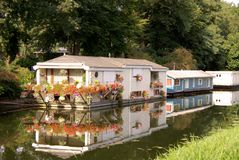 House boat Royalty Free Stock Photography