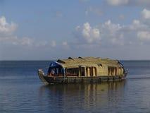 House Boat In Kerala Stock Photo