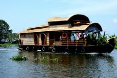 House Boat in Kerala Stock Image