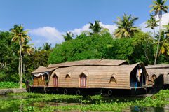 Free House Boat - Kerala, India Stock Image - 12896811