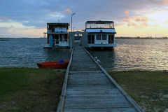 House Boat Stock Image