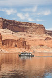 House Boating on Lake Powell Royalty Free Stock Image