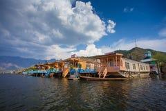 House Boats Stock Photo