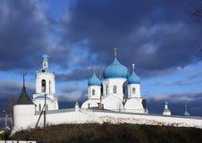 House of Bogolyubskaya Theotokos Stock Images