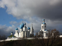 House of Bogolyubskaya Theotokos in authumn Stock Images