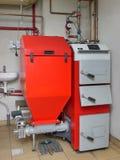 House boiler room Stock Photos