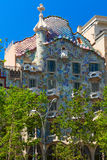 Casa Batllo building. Barcelona, Spain Royalty Free Stock Images