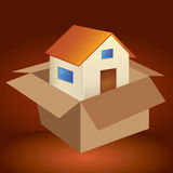 House in box. Stock Image