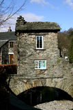 House on the bridge, Ambleside. Stock Photos