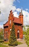 House of the Bridge Keeper (1882) in Kaliningrad, Russia Royalty Free Stock Images
