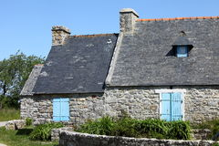 House in Brittany, France Royalty Free Stock Images