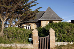 House in Brittany Royalty Free Stock Images